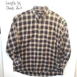 Burberry Shirts - Burberry XL Long Sleeve Nova Check Plaid Shirt